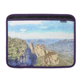 Rugged and beautiful mountains MacBook air sleeve