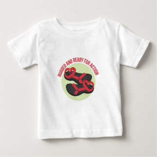 Rugged And Ready Baby T-Shirt