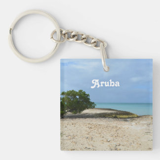 Rugged Aruba Keychain