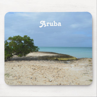 Rugged Aruba Mouse Pad