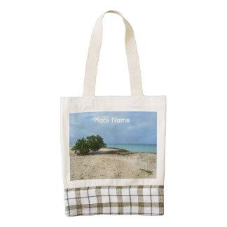 Rugged Aruba Zazzle HEART Tote Bag