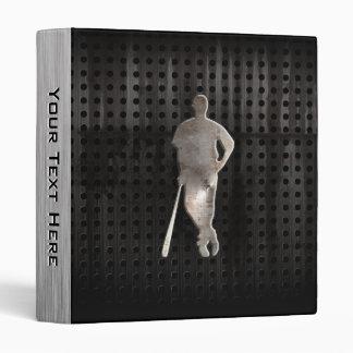 Rugged Baseball Vinyl Binder