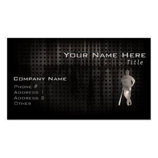 Rugged Baseball Double-Sided Standard Business Cards (Pack Of 100)