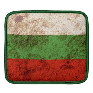 Rugged Bulgarian Flag iPad Sleeve
