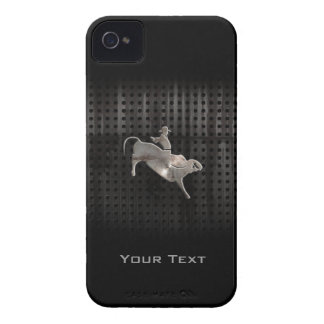 Rugged Bull Rider iPhone 4 Case