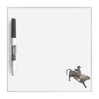 Rugged Bull Rider Dry-Erase Whiteboards