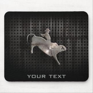Rugged Bull Rider Mouse Pad