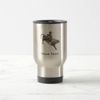 Rugged Bull Rider Coffee Mugs