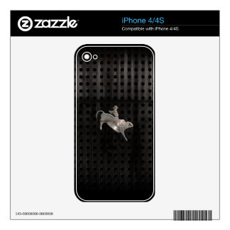 Rugged Bull Rider Decal For The iPhone 4S