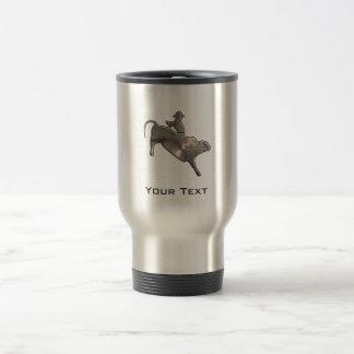 Rugged Bull Rider Travel Mug