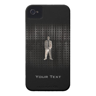 Rugged Business Suit iPhone 4 Case