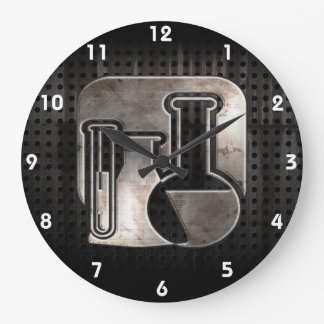 Rugged Chemistry Large Clock