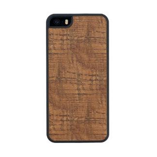 Rugged Chestnut Oak Wood Grain Look Wood iPhone SE/5/5s Case