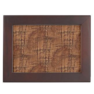 Rugged Chestnut Wood Grain Look Memory Box