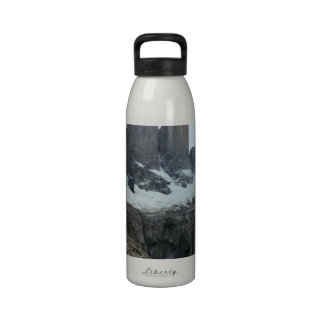Rugged Chile Landscape Water Bottle