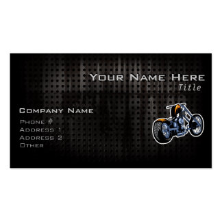 Rugged Chopper Double-Sided Standard Business Cards (Pack Of 100)