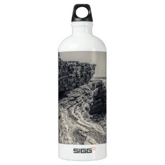 Rugged Coast at Point Loma Aluminum Water Bottle
