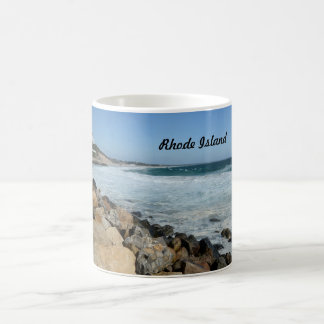 rugged coast in Rhode Island Coffee Mug