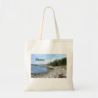 rugged coast of Maine Tote Bag
