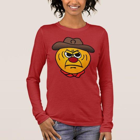 Rugged Cowboy Grumpey Long Sleeve T-Shirt
