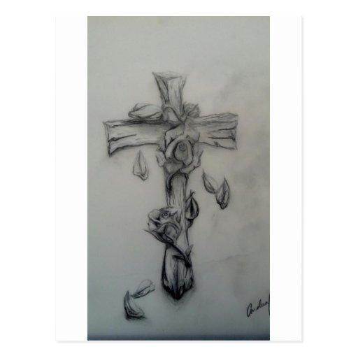 28 rugged cross tattoos full arm old rugged cross for Old rugged cross tattoo designs