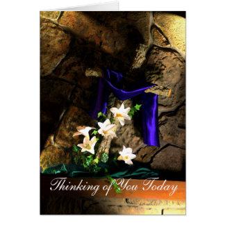 Rugged Cross Inspirational card- customize Greeting Card