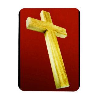Rugged Cross Magnet