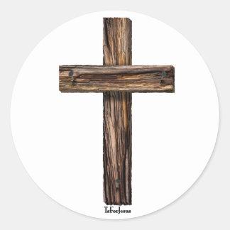 Rugged Cross Sticker