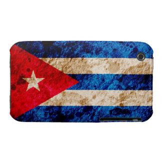 Rugged Cuban Flag iPhone 3 Cases