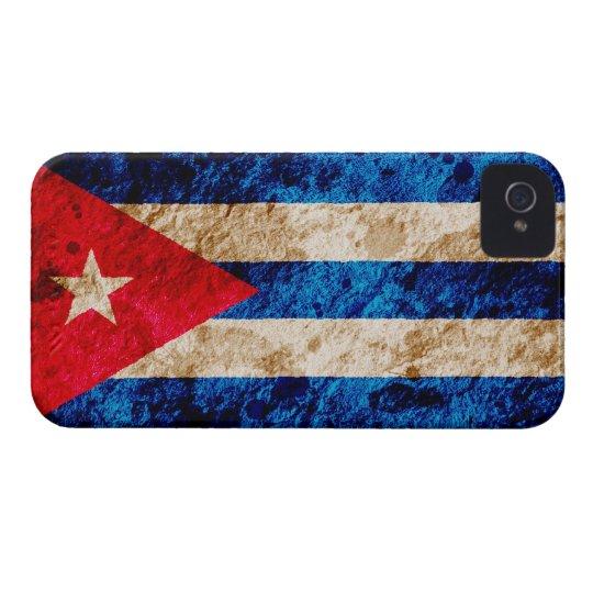 Rugged Cuban Flag Case-Mate iPhone 4 Case