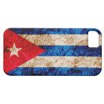 Rugged Cuban Flag iPhone 5 Cases