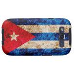 Rugged Cuban Flag Samsung Galaxy S3 Cover