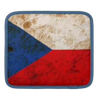 Rugged Czech Flag iPad Sleeve