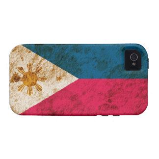 Rugged Filipino Flag iPhone 4 Covers