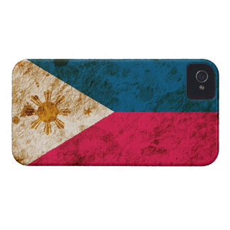 Rugged Filipino Flag iPhone 4 Case-Mate Cases