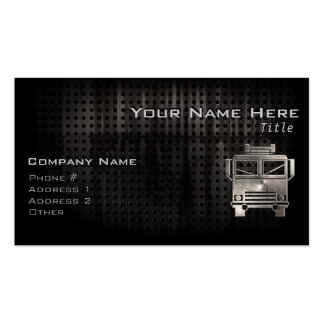 Rugged Fire Truck Double-Sided Standard Business Cards (Pack Of 100)