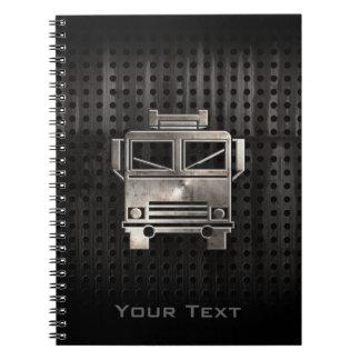 Rugged Fire Truck Notebooks