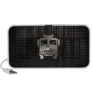 Rugged Fire Truck Notebook Speaker
