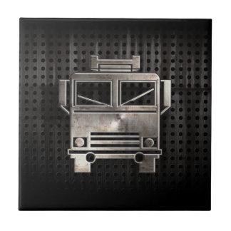 Rugged Fire Truck Tile