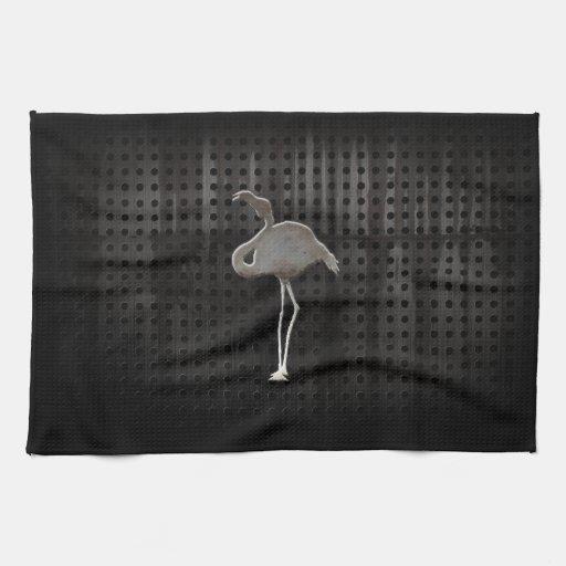 Rugged Flamingo Kitchen Towel