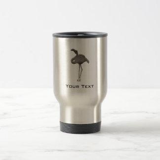 Rugged Flamingo Travel Mug