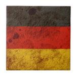 Rugged German Flag Tile