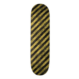 Rugged Gold Skateboard