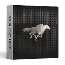 Rugged Horse Racing 3 Ring Binder