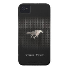 Rugged Horse Racing Case-Mate iPhone 4 Case at Zazzle