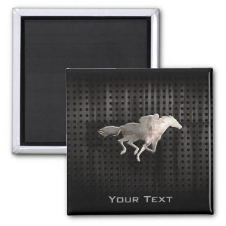 Rugged Horse Racing Magnet