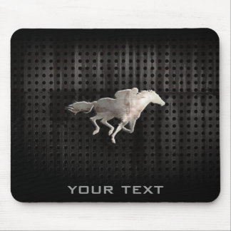 Rugged Horse Racing Mouse Pad