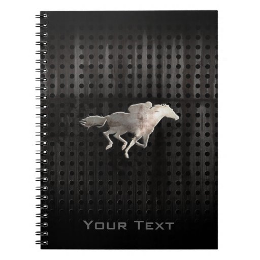 Rugged Horse Racing Spiral Notebooks