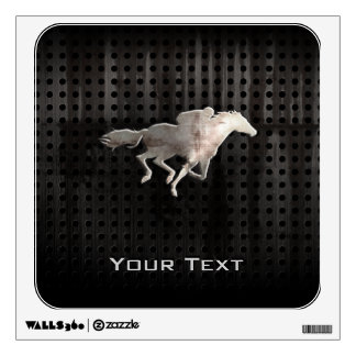 Rugged Horse Racing Wall Sticker