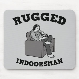Rugged Indoorsman Mouse Pad